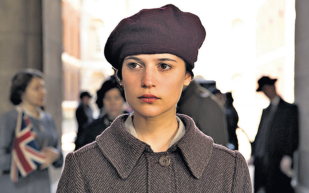 Alicia Vikander as the intense Vera Brittain in Testament of Youth jpg