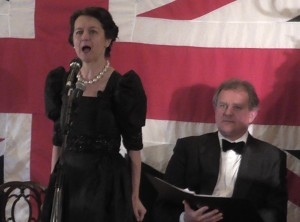 Fiona-Jane Weston and Hugh Bonneville in To End All Wars