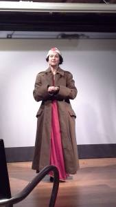 FJW playing Vera Brittain in Wartime Women in TocH