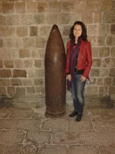 WW1 bomb and FJW